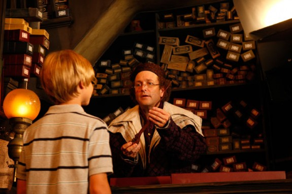 orlando ollivanders 575x382 The Magical Way into Harry Potters Wizarding World