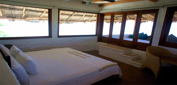 las nubes holbox room 3 575x275 On Isla Holbox, Luxury at the Last Place on Beach