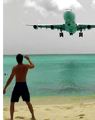 maho st maarten airport beach s2 Plane Spotting, Caribbean Style