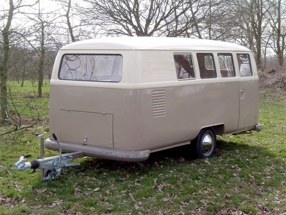 Perfect Volkswagen Bus Inspired Dub Box Camper Trailer  HiConsumption