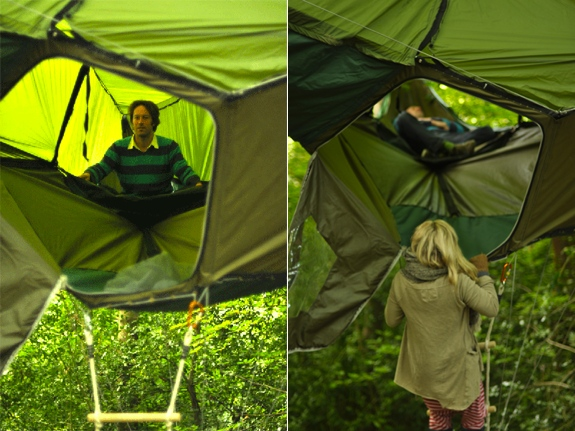 tentsile hammock tent gl&ing 3 The Portable Treehouse ... & Tentsile: The Giant Suspended Treehouse-Tent-Hammock | Spot Cool ...