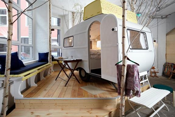 Indoor Caravan Camping