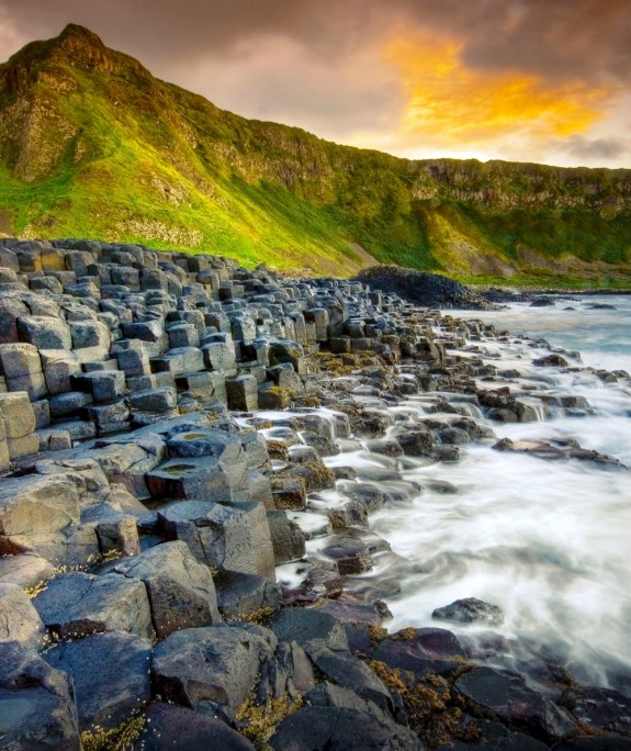 giants causeway norther ireland 575x684 Walk Along The Giants Causeway