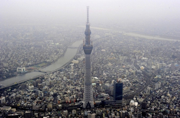tokyo skytree worlds tallest tower Climbing the Tokyo Skytree