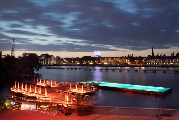 Badeschiff: Berlin's Floating Pool