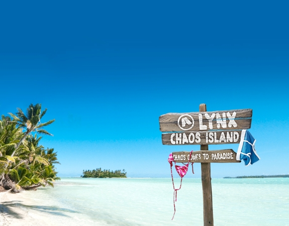 lynx chaos island Sponsored Video: <br>Win a Trip to Chaos Island