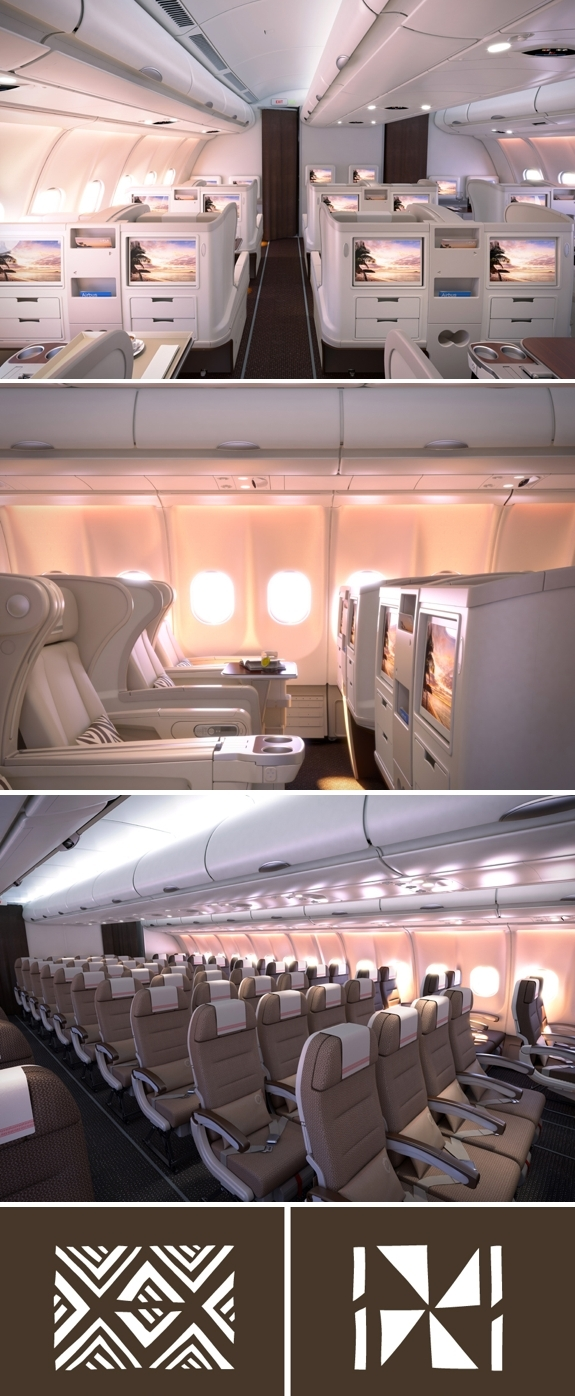 fiji airways travel airplane interior1 Fiji Airways: The Worlds Next Cool Airline?