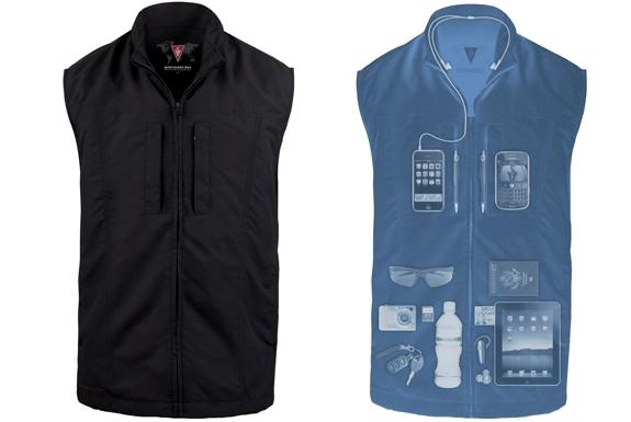 Scottevest Designs the Ultimate, Pocket-full Travel Vest