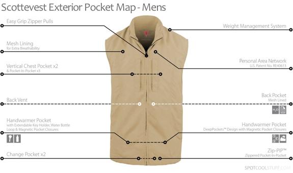 travel vest review mens exterior Scottevest Designs the Ultimate, Pocket full Travel Vest