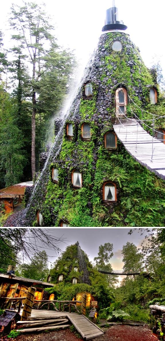 unusual hotel la montana magica The Crazy Cool Treehouse Like Hotels of Huilo Huilo