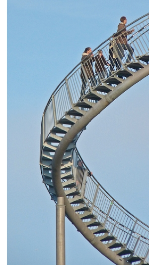 germany roller coaster stairs s The Roller Coaster Stairway To Nowhere