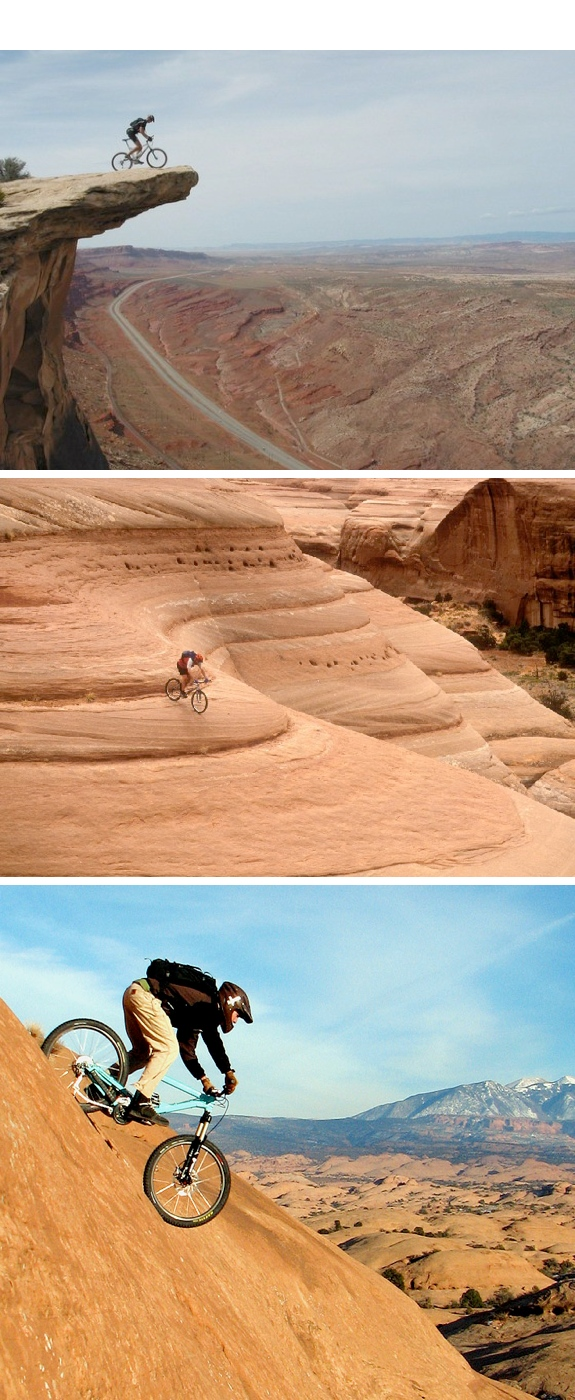 mountain biking moab Our Favorite Extreme Mountain Biking Locations