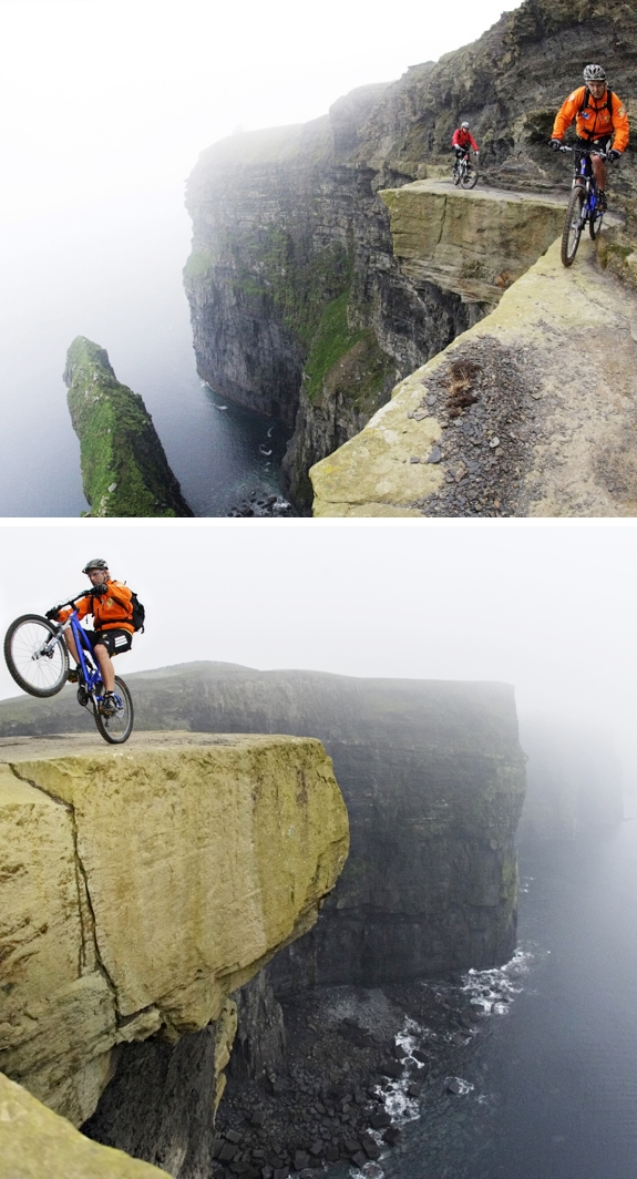 moutain biking moher cliffs ireland Our Favorite Extreme Mountain Biking Locations