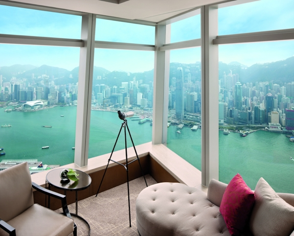 ritz carlton hk review luxury The Best View from a <br>Hotel Room in Hong Kong