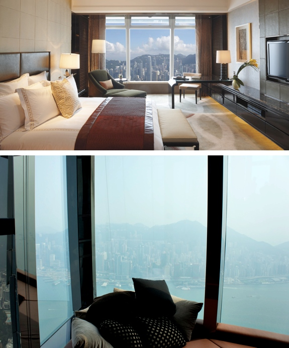 ritz carlton hong kong review room The Best View from a <br>Hotel Room in Hong Kong