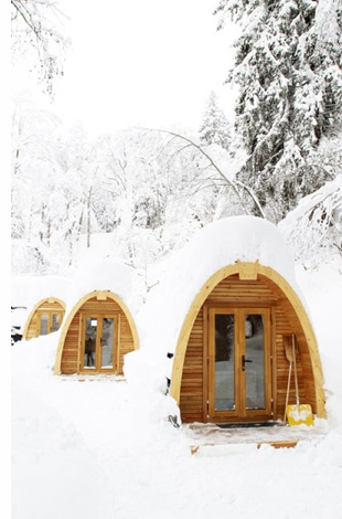 Untitled 9 Glamping in Switzerlands PodHotel