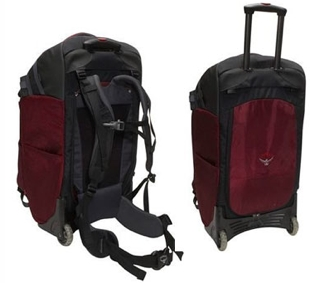 Rolling Backpack Carry On Luggage | Frog Backpack