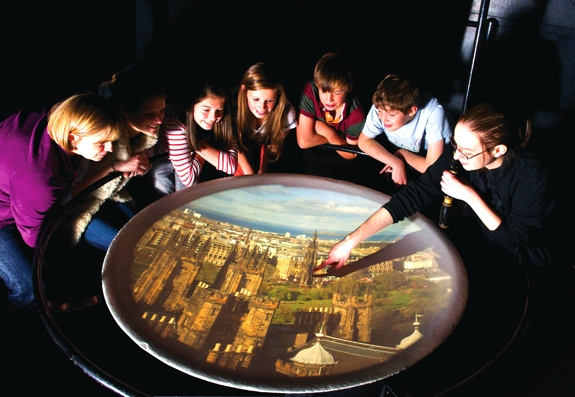 edinburgh camera obscura travel Edinburghs Camera Obscura and the World of Illusions