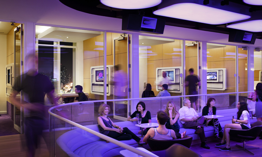 yotel club lounge Yotel NYC