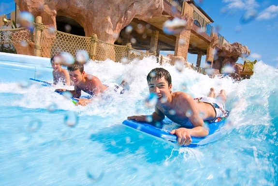 The Largest Water Park in the Caribbean