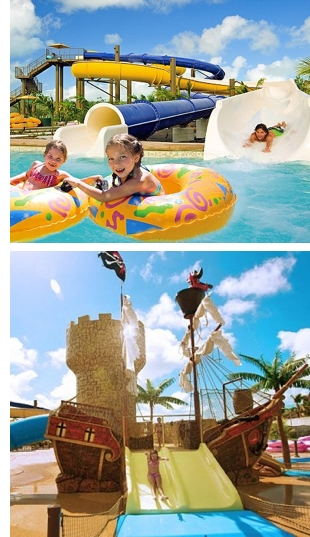 beaches water park turks caicos s The Largest Water Park in the Caribbean