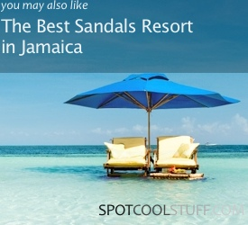 intra sandals 275 Total Luxury Half Underneath the Indian Ocean