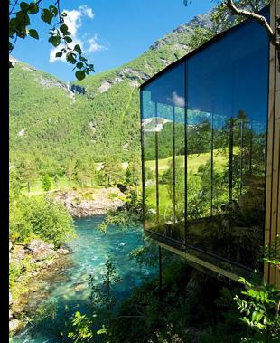 juvet landscape hotel norway s Norways Landscape Hotel