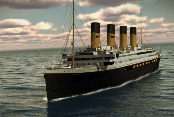 The Titanic To Set Sail. Again.