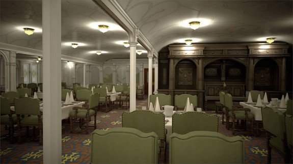 titanic ii first class dining 575x323 The Titanic To Set Sail. Again.