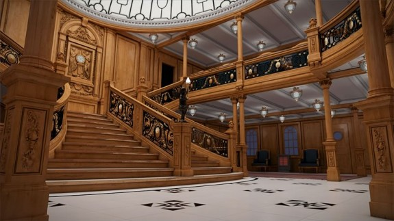 titanic ii grand staircase 575x323 The Titanic To Set Sail. Again.