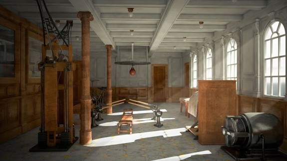 titanic ii gym 575x323 The Titanic To Set Sail. Again.