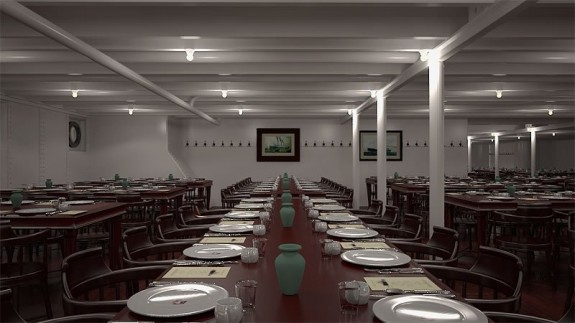 titanic ii third class dining 575x323 The Titanic To Set Sail. Again.