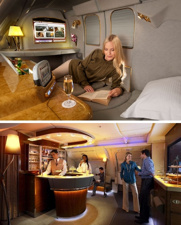 emirates first class The Worlds Coolest Airlines