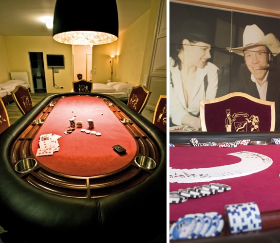 poker room germany theme hotel Our Favorite Room Themes at the Landhotel Hof Beverland