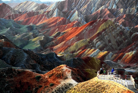 China's Pastel-Painted Mountains