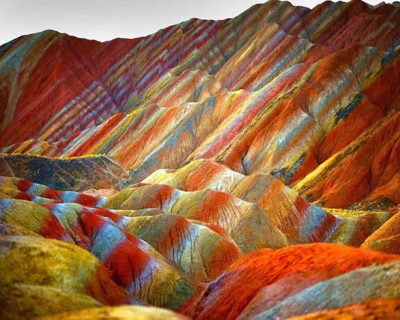 zhangye danxia china 1 Chinas Pastel Painted Mountains