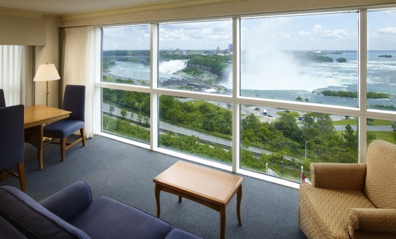 The Best View Of Niagara Falls From A Hotel Room