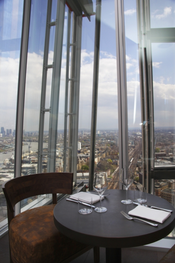 oblix shard restaurant review The Shard Lifts London Restaurants to New Heights
