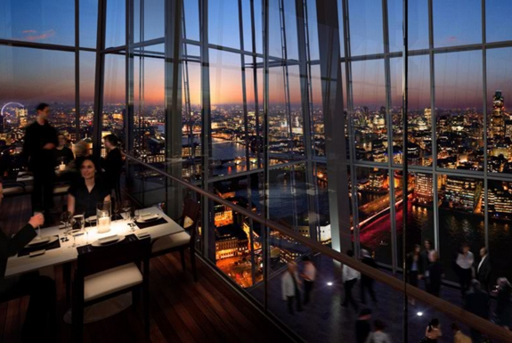 The Shard Lifts London Restaurants to New Heights