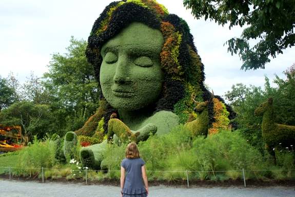 The Living Sculptures of Mosaïcultures