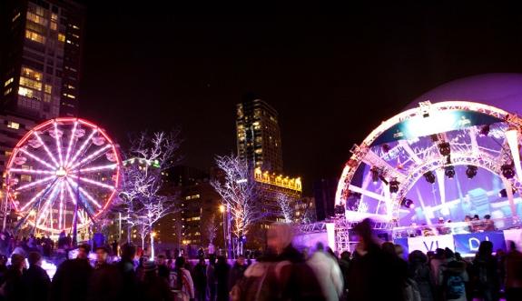 montreal festival lights Montreal Family Travel