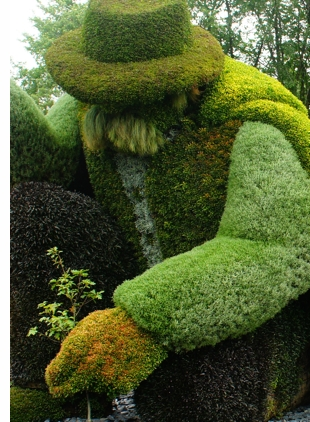 montreal mosaic culture botanical gardens s The Living Sculptures of Mosaïcultures