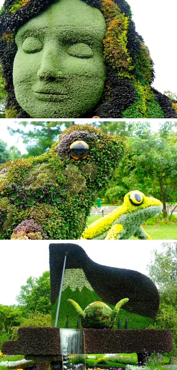 montreal mosaic culture gardens family b The Living Sculptures of Mosaïcultures