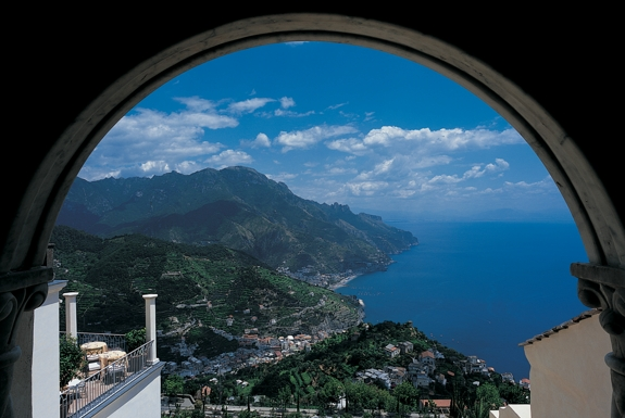 The Best View from a Hotel Room on the Amalfi Coast