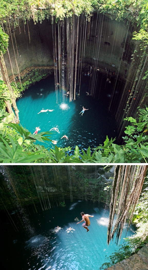 cenote swimming yucatan travel 1 The Worlds Most Amazing Swimming Holes