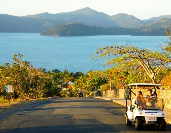 buggy cart driving hamilton island 10 Reasons to Visit Hamilton Island, Australia