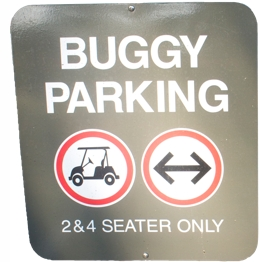 buggy parking sign hamilton 10 Reasons to Visit Hamilton Island, Australia