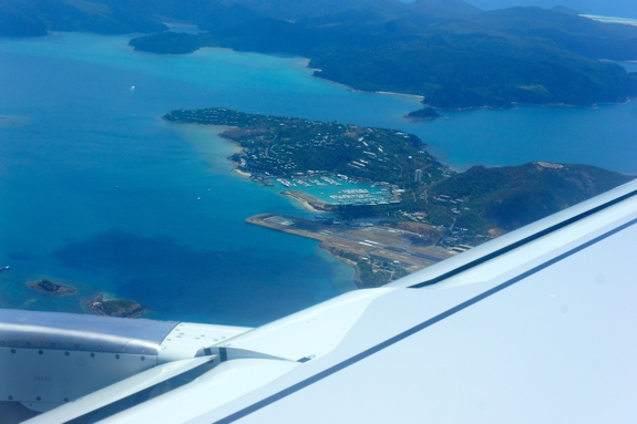 flying into hamilton island1 10 Reasons to Visit Hamilton Island, Australia