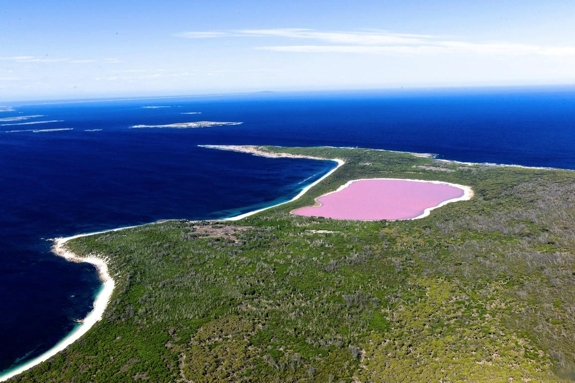 pink lake hiller australia travel Pink Lakes of the World