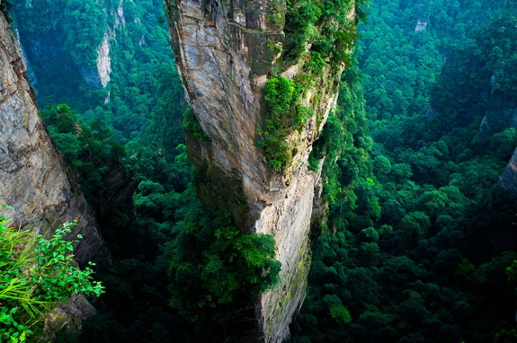 zhangjiajie cool travel blog 1 The Elevator of One Hundred Dragons